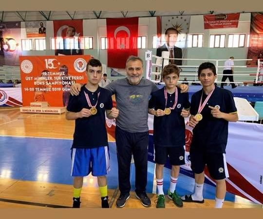 Box Türkiye Şampiyonu Fenerbahçe