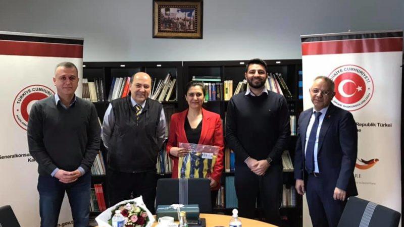 Besuch beim türkischen Konsulat in Karlsruhe